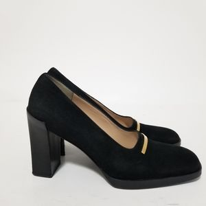 Gucci size 6.5 suede heels